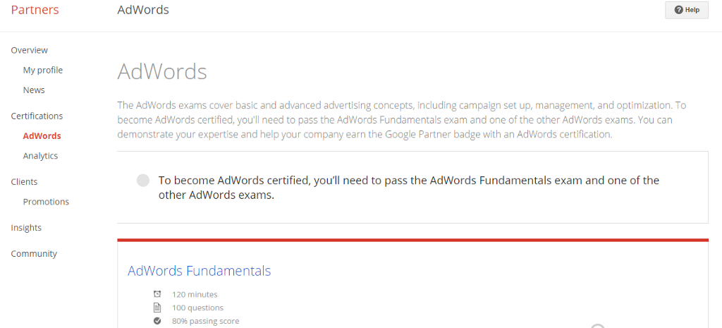 Adwords Fundamentals