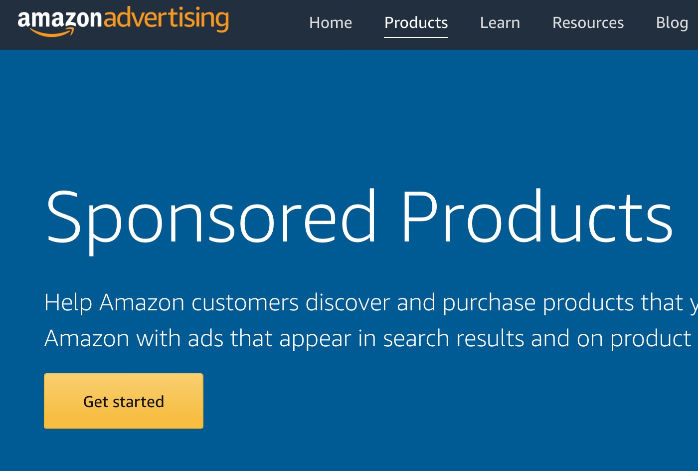 Amazon Advertising access