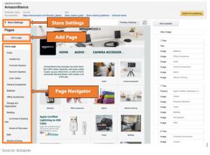 amazon stores - amazon features