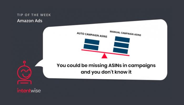 Tip of the week-missing ASINS