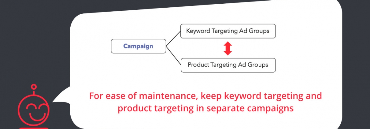 Amazon Advertising Tip of the week - Product and Keyword targeting