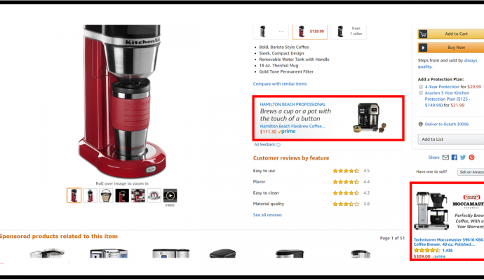 Amazon SD product targeting