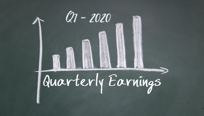 Amazon Quarterly earnings Q1 -2020